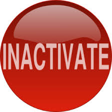 inactivate